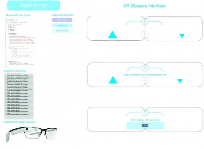 Mind reader AR glasses